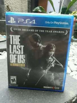 kaset ps 4 the last of us