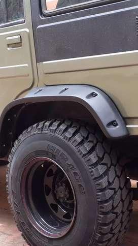 Brand new wheel arch for bolero
