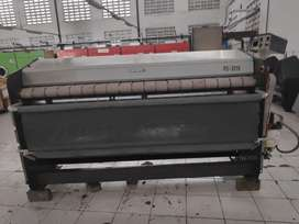 Mesin laundry roll ironer girbau 2.5 meter pakai gas
