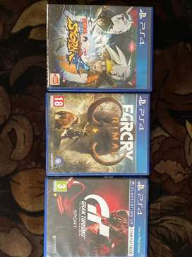 PS4 Games 3000Rs