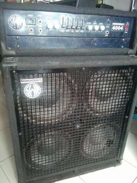 SWR workingman'n 4004 amply bass made in mexico