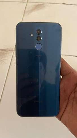 Huwai matt 20 lite 4gb 64gb phone & charger