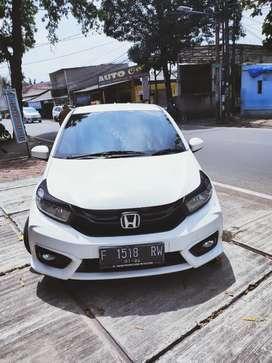 Honda Brio e cvt 2018/2019 putih full ori
