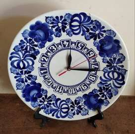 Jam Bunga Porcelain Hand Painted Made in Czech