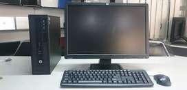 """** HP Core i3 / 19""""HP HD LED  Screen"""
