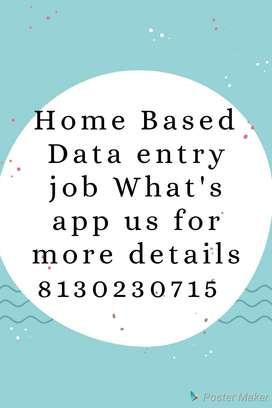 home based job for everyone