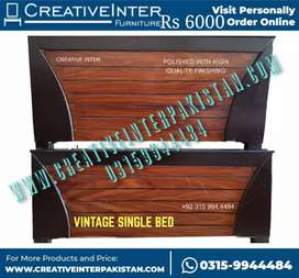 Single bed set new center table iron stand istri stand Wardrobe Almari