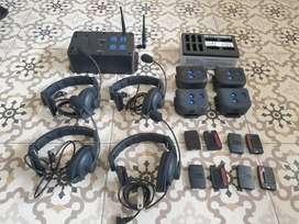 Di Jual Clearcom DX 100 set