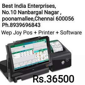 ALL NEW WEP BP JOY POS BILLING MACHINES WITH ONE YEAR WARRANTY