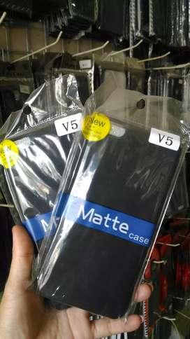 Softcase/Soft Case/Blackmatte/Black Matte Vivo V5
