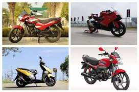 All types of bikes available