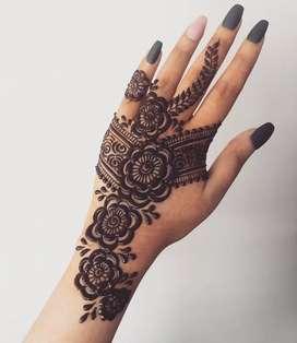 Dicari Henna Artist untuk join usaha