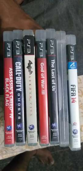 Ps3 games cds