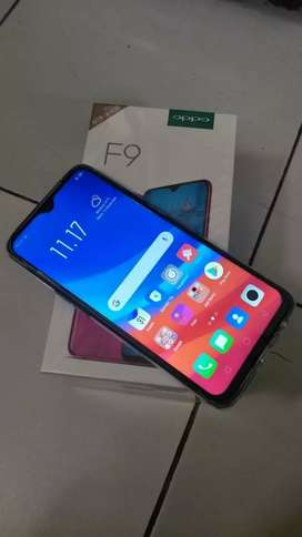 OPPO F9 full box with 5 month warranty