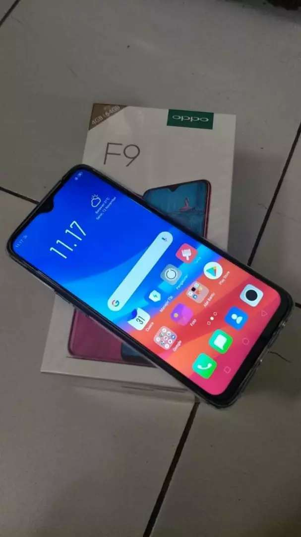 OPPO F9 full box with 5 month warranty 0