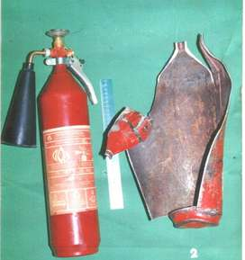 apar merek Saverex 3 Kg CARBON DIOXIDE CO2