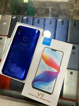 Vivo V9(4/64GB) Blue Colour .   Fixxx Price