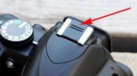Tutup Hot Shoe Cover Nikon D3200 D5100 Sony A6000 Fuji XA Olympus EPL