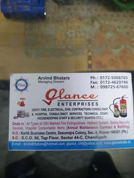 Electrician and fire safety executive