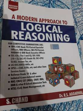 A modern approach to logical reasoning by RS Aggarwal
