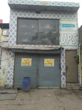 Shop for Rent in Main Road Samanabad Lahore.