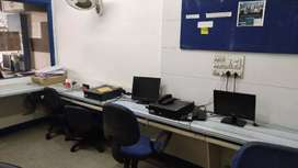 Work Station available per sit base