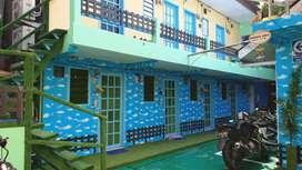Rumah di Senen, Rumah Kost 4Lt, 105 KT, Full Furnish, Income 170jt/Bln