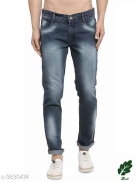 Stylish Designer Heavy Denim Men's Jean(this is online product)