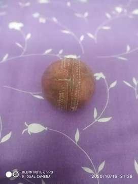 Good quality hard leather ball
