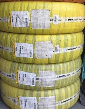 Dunlop tyres fresh import in discounted rates