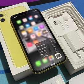 IPHONE 11 64GB YELLOW RESMI IBOX