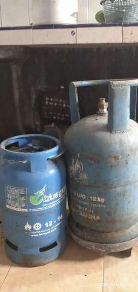 Tabung gas LPG 12kg dan Blue gas