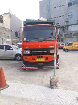 dijual Mitsubishi Fuso FN 527 MS 6x4 dump truck