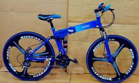 folding cycle with 21  shimano   gears sport model available