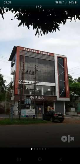 Shopping complex for rent at Thirur, Thrissur.ATM SPACE FOR RENT