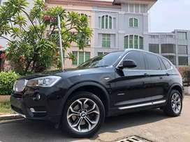 BMW X3 X-Drive 2017 Black Panoramic Sunroof PBD Km30rb Full Wrnty5Thn