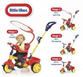 Sepeda anak little tikes learn to pedal 4 in 1 trike
