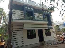 Villa 1280SqFt/6.35cent/3 BHK/55 lakh/Viyyur, pamboor Thrissur