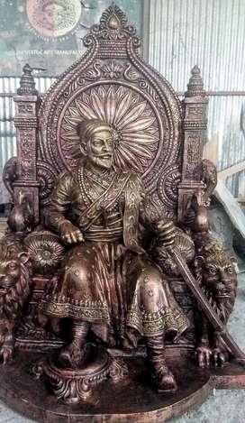 Statue cement work fiber taryar kurun Medel