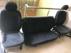Seats and Bumpers of Santro