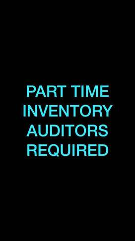 Part Time Inventory Auditors required: Vellore