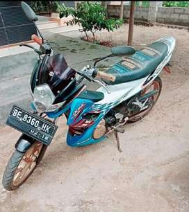 Motor satria f pakean pribadi