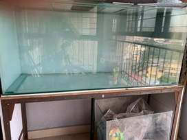 Fish tank with stand for sale