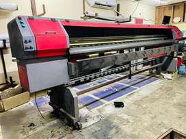 Solvent Banner printing Machine for Sell
