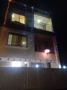 3BHK luxurious individual floor of bungalow near kk wagh engg College