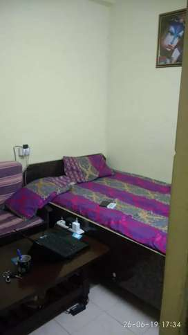 Fully furnished flat available on rent