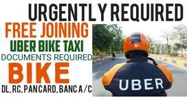 UBER DRIVER REQUIRED,ମାଗଣା ଚାକିରି ( BIKE TAXI)ସାପ୍ତାହିକ ଦରମା |
