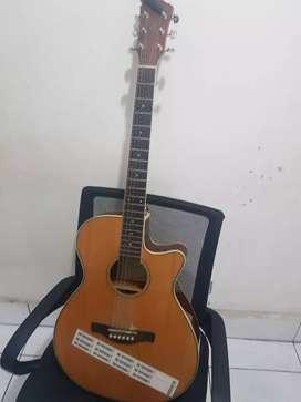 Gitar akustik elektrik original