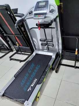 Ready treadmill elektrik TL 288 2hp manual incline & teruji kokoh