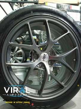 velg r18 complit ban termurah ring 18 cocok untuk mobil innova reborn